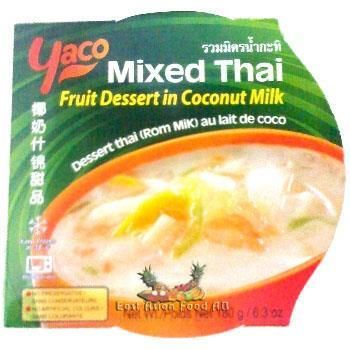 YACO MIXED THAI FRUIT DESSERT
