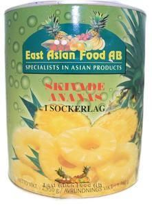 CANNED PINEAPPLE SLICED 2,95KG