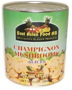 CANNED MUSHROOM SLICE 2,84 KG