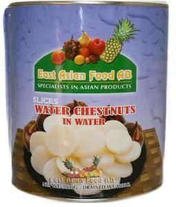 CANNED WATERCHESTNUTS SLICED