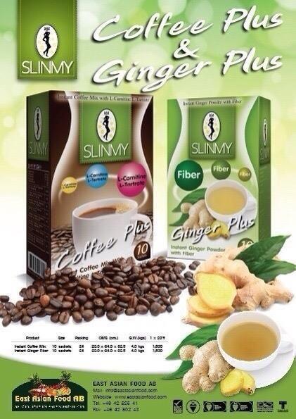 SLINMY GINGER PLUS W/FIBER