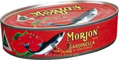 MORJON SARDINELLA TOMATO 200GR