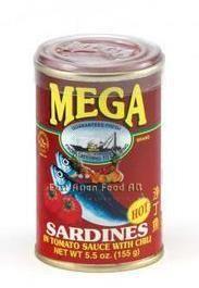 MEGA SARDINES TOMATO W/CHILI