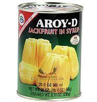 AROY-D BR. JACKFRUIT IN SYRUP