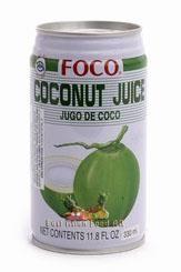 FOCO BR. COCONUT JUICE 350 ML