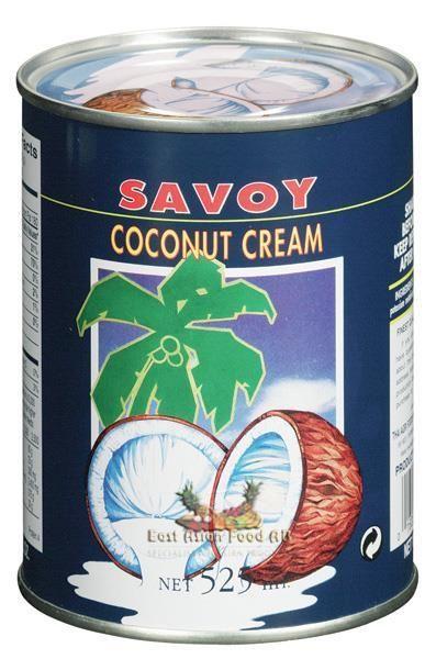 SAVOY COCONUT CREAM 525 ML