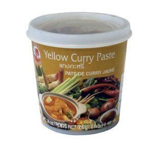 COCK BR.YELLOW CURRY PASTE