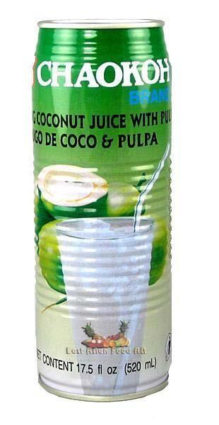 CHAOKOH COCONUT JUICE 520 ML