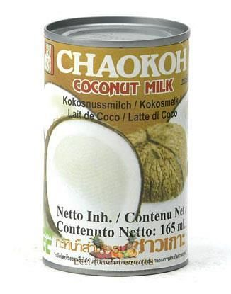 CHAOKOH COCONUT MILK 165ML