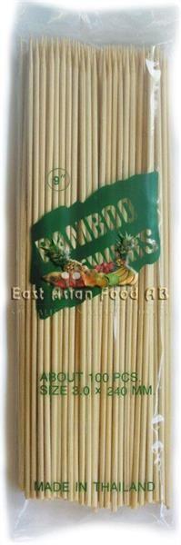 "BAMBOO SKEWER 10"" (240MM)"