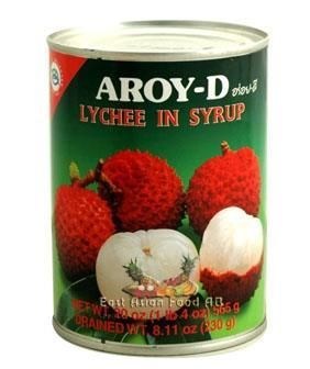 AROY-D BR. LYCHEE IN SYRUP