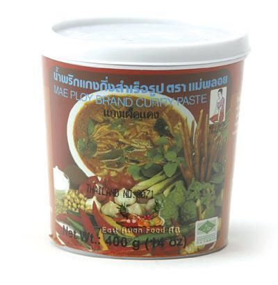 MP BR. RED CURRY PASTE 400 GR