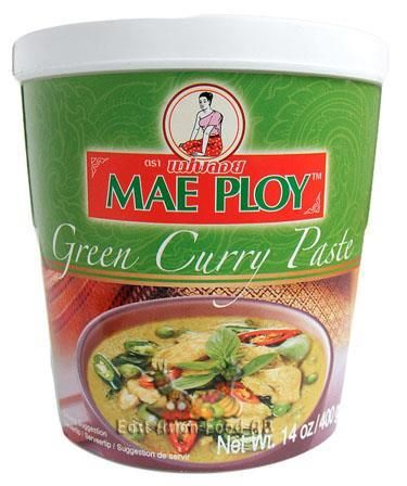 MP BR. GREEN CURRY PASTE 400GR