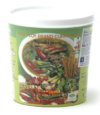 MP BR. GREEN CURRY PASTE 1KG