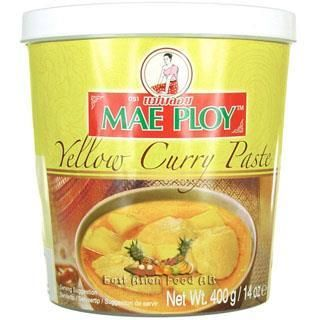 MP BR. YELLOW CURRY PASTE 400G