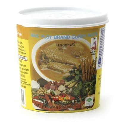 MP BR. YELLOW CURRY PASTE 1KG