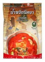 NITTYA BR. RED CURRY PASTE 1KG