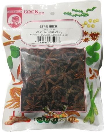 COCK BR. DRIED STARANISE 57 GR