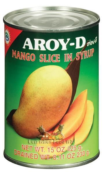 AROY-D MANGO IN SYRUP (SLICED)