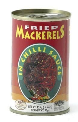 FRIED MACKERELS IN CHILI SAUCE