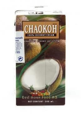 CHAOKOH COCONUT CREAM 500 ML