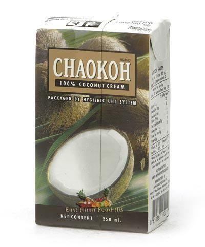 CHAOKOH COCONUT CREAM 250 ML