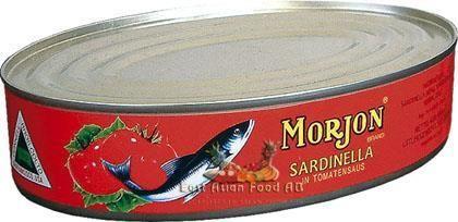 MORJON SARDINELLA IN TOMATO