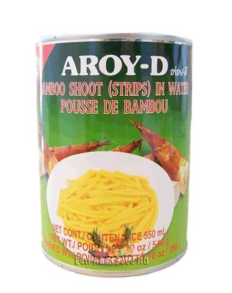 AROY-D BAMBOO SHOOT STRIP 540 GR