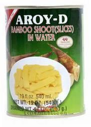 AROY-D BAMBOO SHOOT SLICE 540G