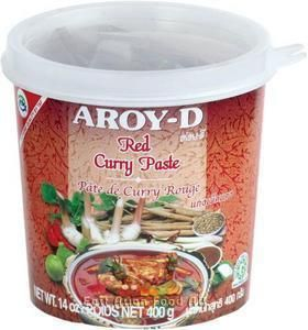 AROY-D RED CURRY PASTE 400 GR