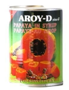 AROY-D PAPAYA CHUNKS IN SYRUP