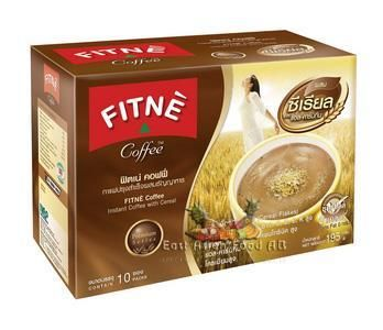 FITNE COFFEE W/CEREAL&L-CARTIN