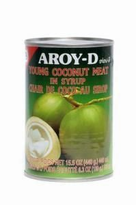 AROY-D YOUNG COCONUT/MEAT 425G