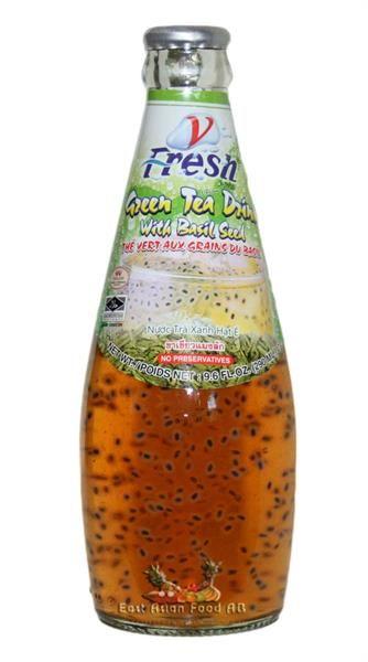 V-FRESH GREEN TEA W/BASIL SEED