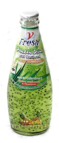 V-FRESH PANDAN DRINK W/BASIL