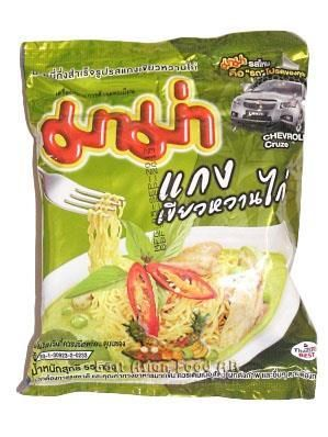 MAMA BR. CHICKEN GREEN CURRY NOODLE