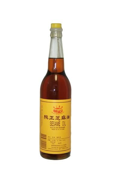 SESAME OIL 12 BOTTLE X 600 ML
