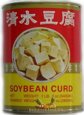 CANNED SOY BEANCURD IN WATER