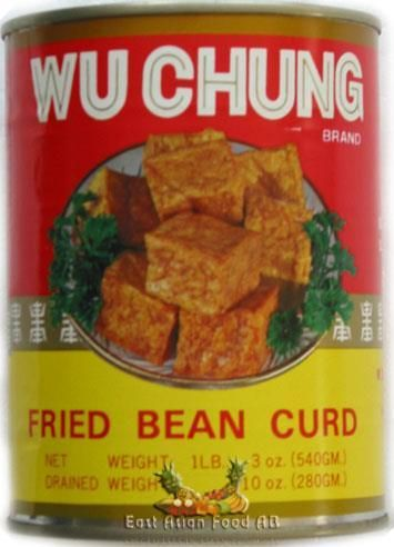 CANNED FRIED BEAN CURD 540GR