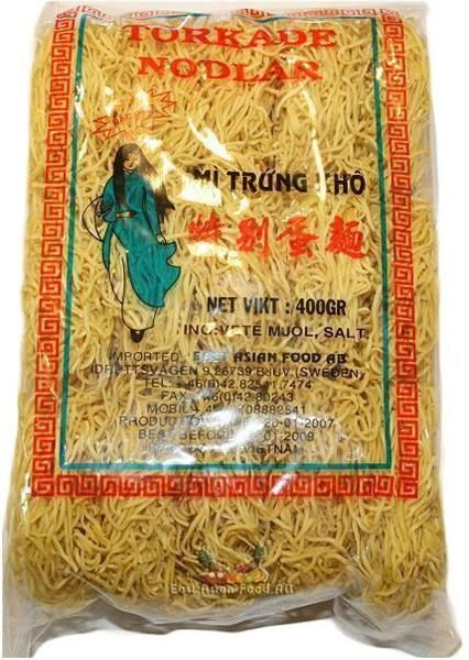 DRIED EGG NOODLE (LARGE) 400GR