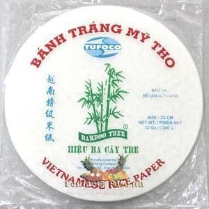 MY THO RICE PAPER 22 CM 340 GR (T-P)