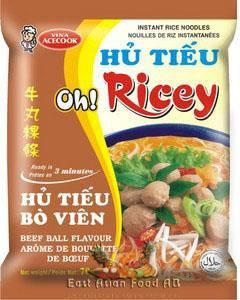 OH! RICEY BEEF BALL NOODLE