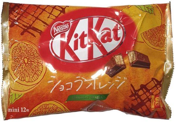 KITKAT ORANGE CHOCOLATE
