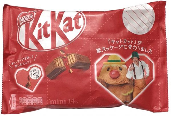 KITKAT HEART CHOCOLATE RED