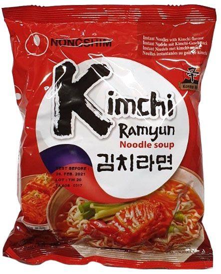 INSTANT KIM CHI NOODLE (20 BAG X 120 GR)