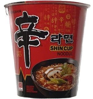 INSTANT SHIN RAMYUM HOT & SPICY CUP