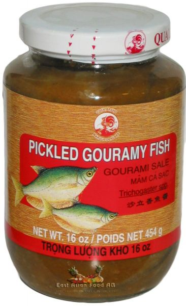 PICKLED WHOLE GOURAMY FISH (MAM CA SAC NGUYEN)