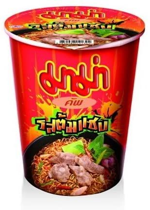 INSTANT NOODLE CUP TOM SAAB  FLAVOUR