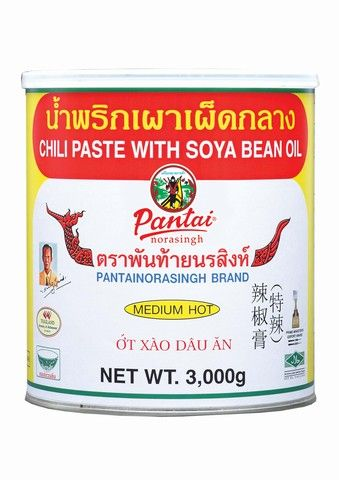 NAMPRIKPAO CHILI PASTE W/SOYA BEAN OIL