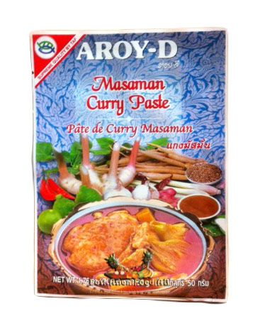 MATSAMAN CURRY PASTE